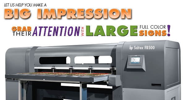 Print directly on virtually any rigid, thick, or heavy specialty media, including plexiglas, wood or metals or more conventional media such as foam board, PVC, sintra and corrugated plastic up to 2.5 inches thick! AND, we have WHITE INK capability.