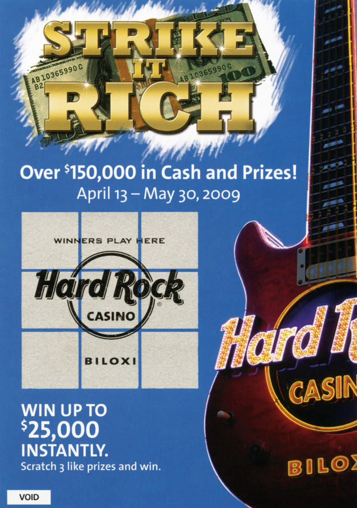 Scratch-off_Hard Rock C#193