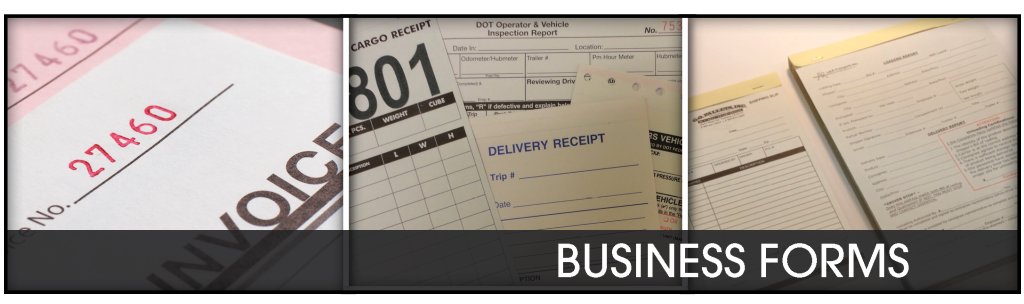 business forms heading